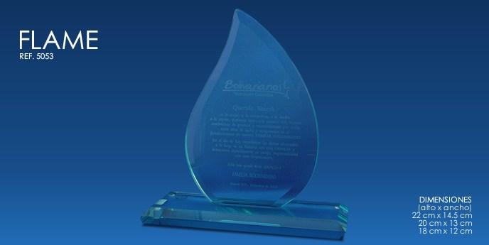 Trofeos en cristal