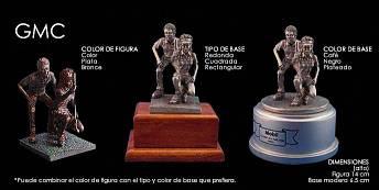 Trofeos en porcelana